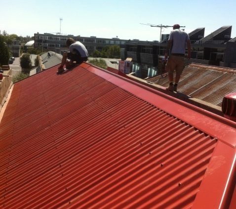New Colorbond Roof Melbourne