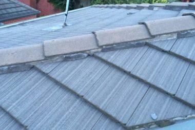 Pointing Ridge Tiles