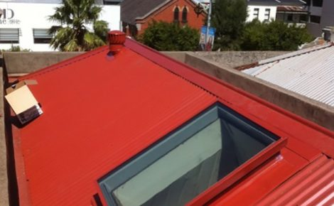 Red Colorbond Roof New