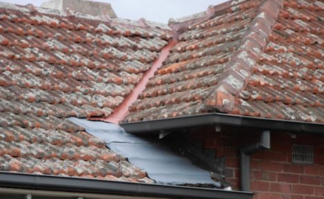 Tiled Roof Repair New Valley and Lead under Valley