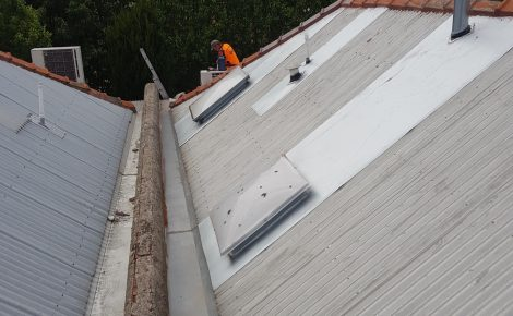 after roof repairs